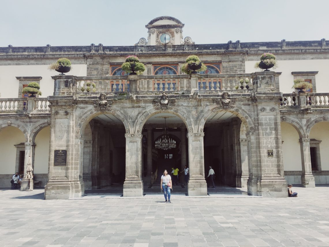 Castillo De Chapultepec Mexico City